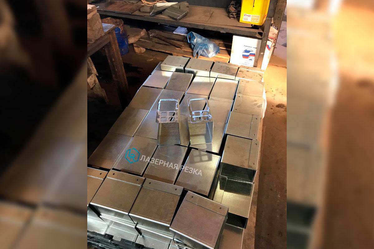 Лазерная резка и гибка деталей из оцинкованной стали
