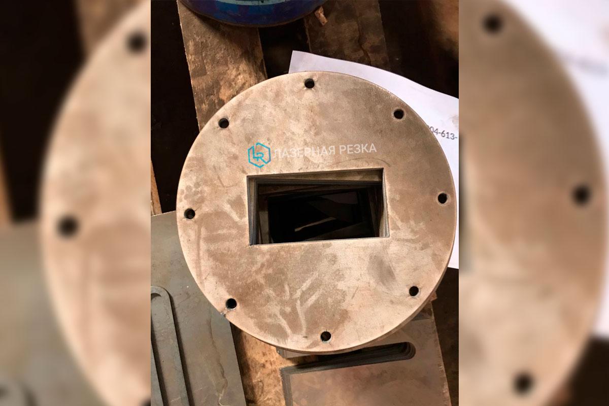 Лазерная резка нержавеющей стали 8 мм
